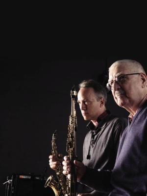 Ted Nash and Joe Temperley - two of the instructors whose videos you can watch for free at JALC's online Jazz Academy.
