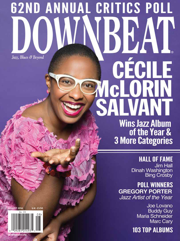 Cecile McLorin Salvant: Young Provacateur (DownBeat cover story, 8/14)
