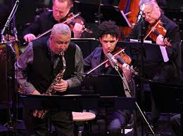"Bird Lives! Paquito D'Rivera revives ""Charlie Parker w/Strings"" at JALC (DownBeat, April 2013) My review of Jazz at Lincoln Center's ""Charlie Parker with Strings"" concert, with Paquito D'Rivera"
