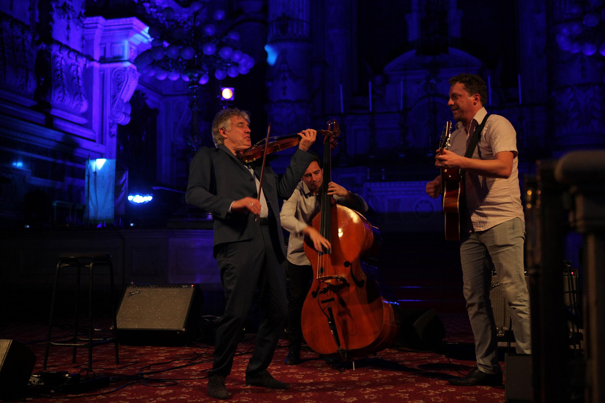 Didier Lockwood Trio at Igreja da Candalaria, Rio