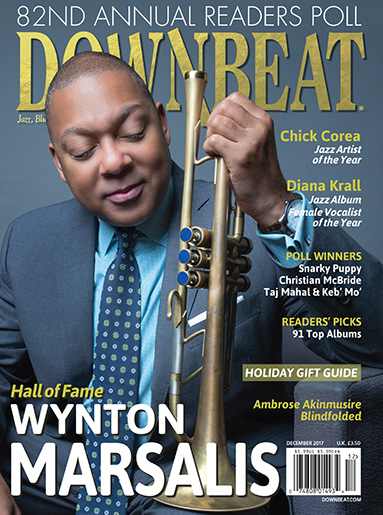 Downbeat December 2017 cover