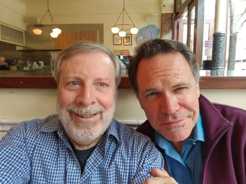 Kurt Elling and me, March 2018